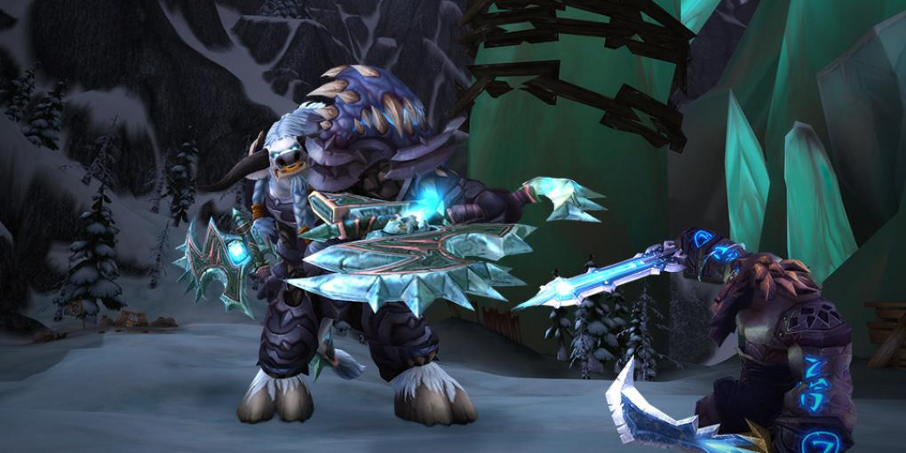 Der Frosttodesritter in World of Warcraft: Legion.
