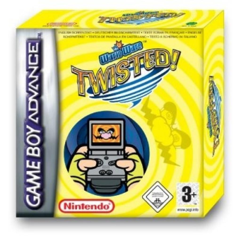 Warioware Twisted Game Boy Advance