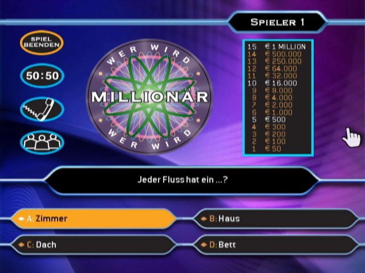 Wer Wird Millionär Online