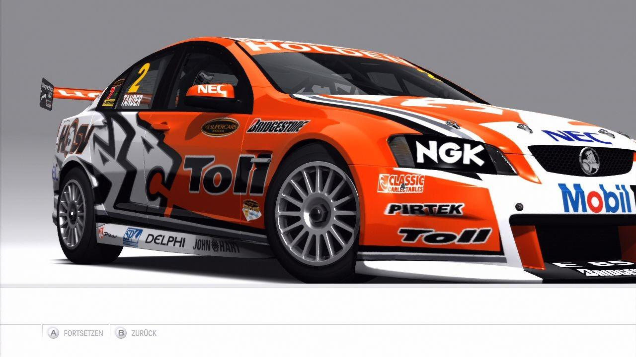[13/10/09] HOLDEN Toll Holden Racing Team Commodore VE 2009