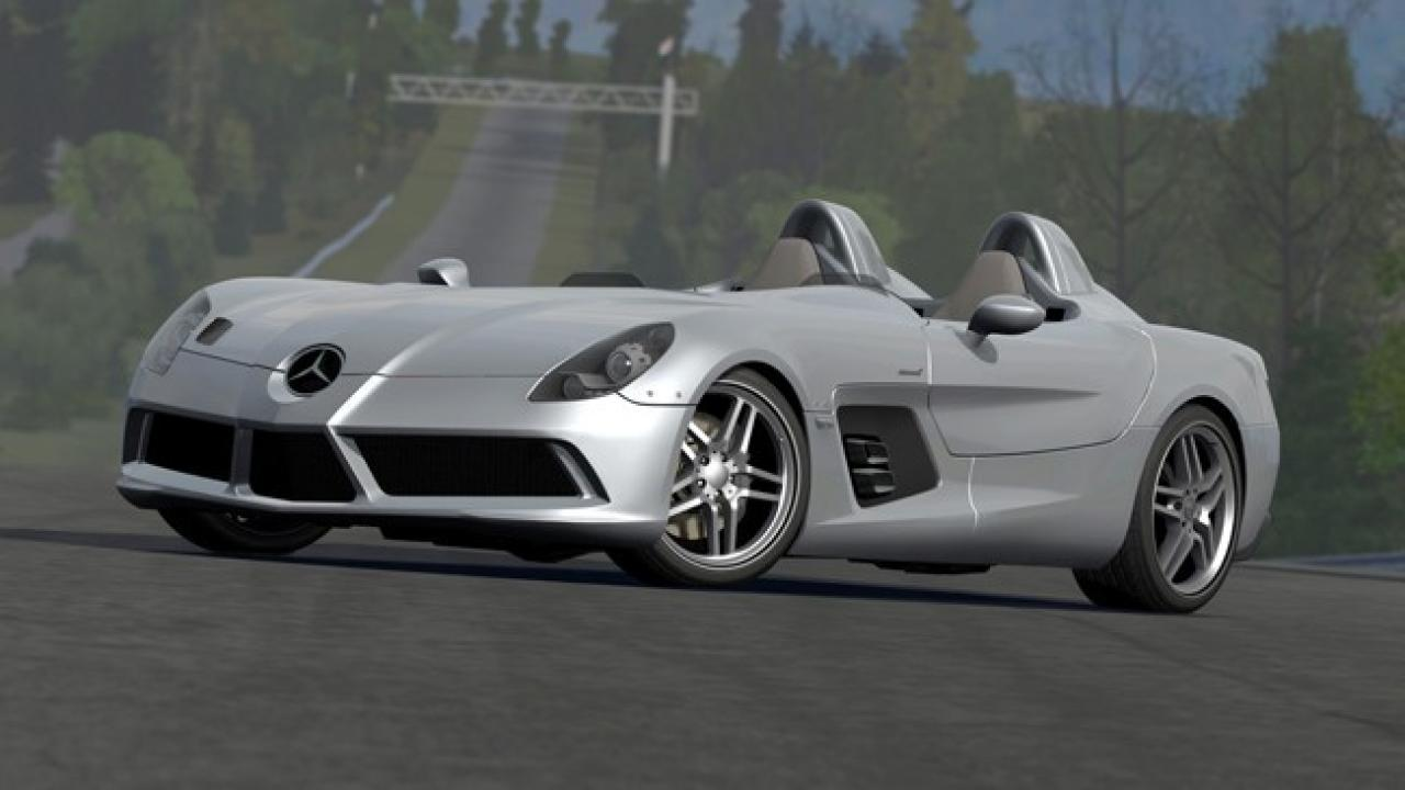 [09/12/09] 2010 Mercedes SLR Stirling Moss
