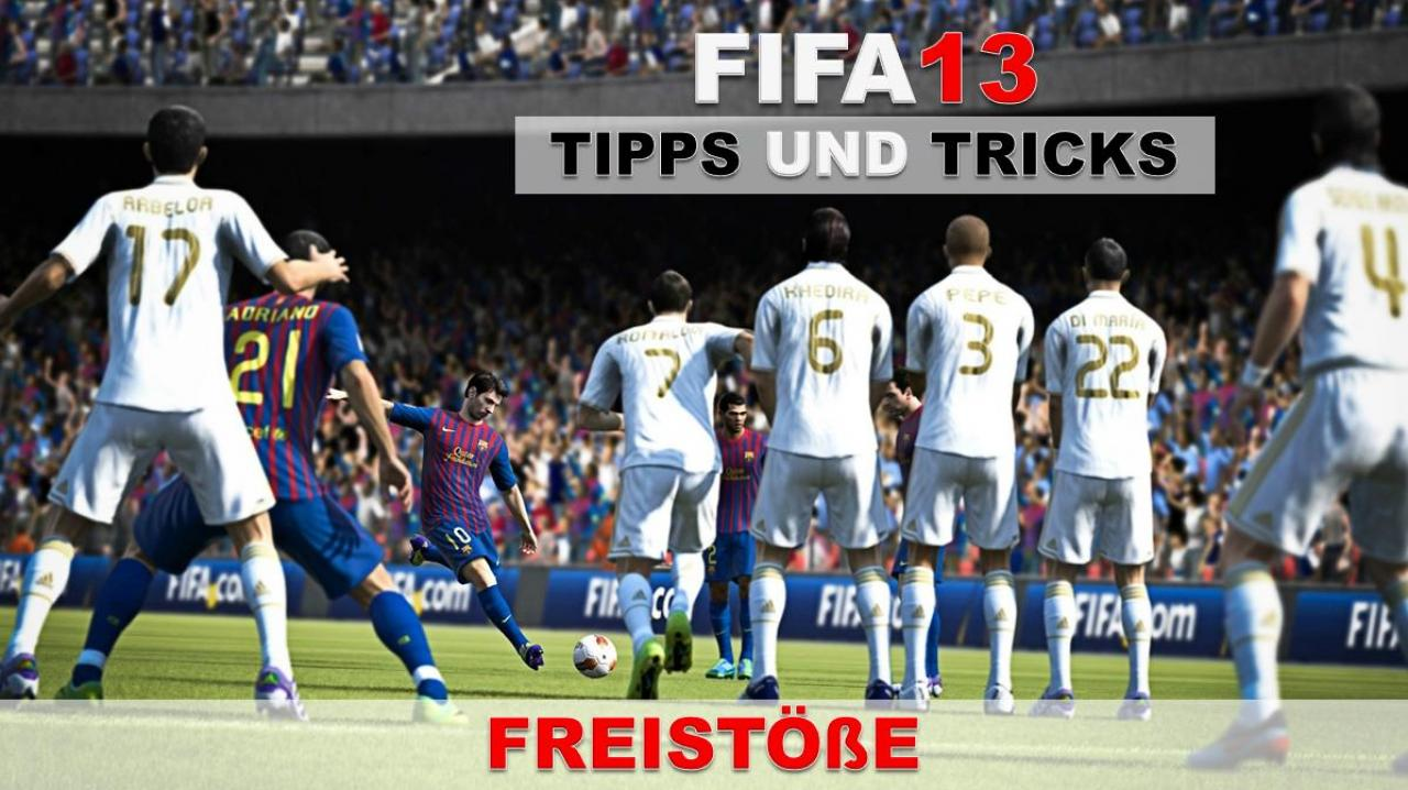 fifa 13 tipps und tricks zu den freist en auf xbox 360. Black Bedroom Furniture Sets. Home Design Ideas