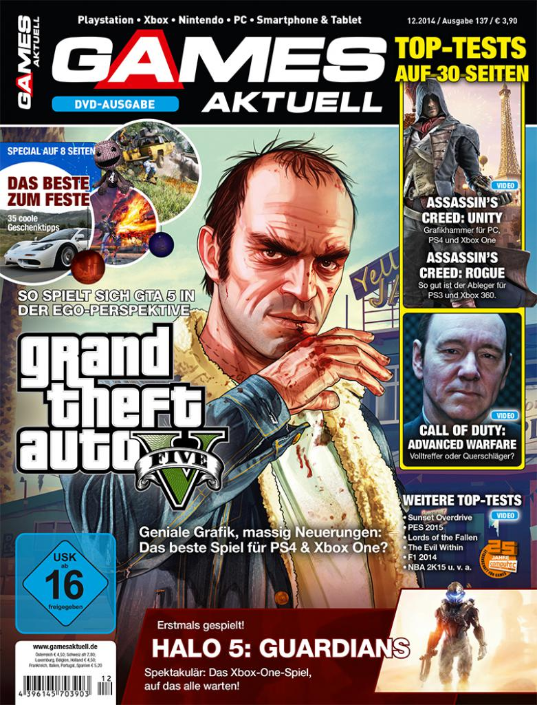games aktuell 12 2014 grand theft auto 5 das beste. Black Bedroom Furniture Sets. Home Design Ideas