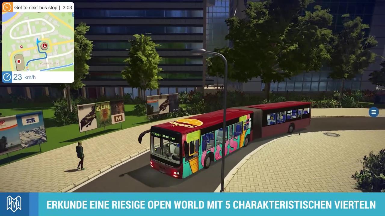 bus simulator 2016 release trailer zur simulation. Black Bedroom Furniture Sets. Home Design Ideas