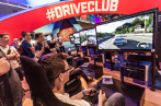 DriveClub spielbar am Sony-Stand.