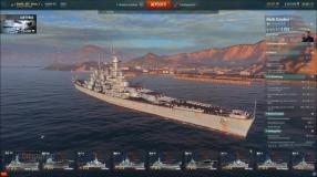 World of Warships: USS North Carolina - Video-Guide (buffed Shipyard)