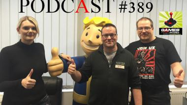Games Aktuell-Podcast 389: Fallout 4, Rise of the Tomb Raider, Xbox One spielt jetzt 360-Games