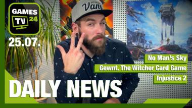 No Man's Sky, Injustice 2, Gwent - Video-News vom 25. Juli