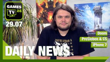 Doom-Update, Hearthstone-Add-on, iPhone7, ProSieben + CS - Video-News vom 29. Juni