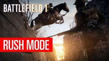 Battlefield 1: Rush-Modus in der Video-Vorschau