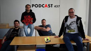 Games Aktuell Podcast 437: Markus, Lukas, Andy, Thomas