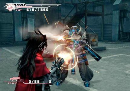 PAL-Version von Final Fantasy VII: Dirge of Cerberus verbessert!