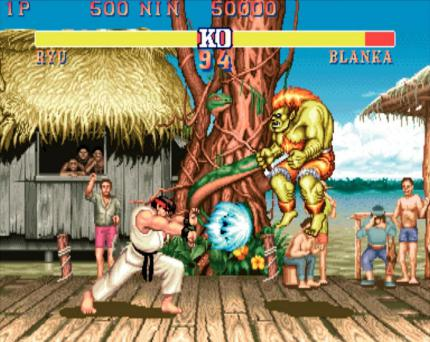 Street Fighter II Ryu : Blanka