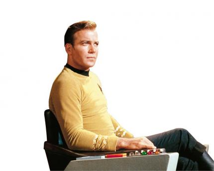 Legendär: William Shatner als James T. Kirk