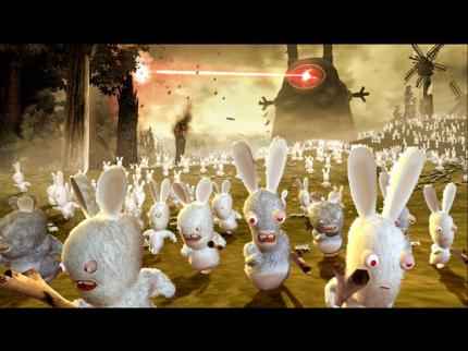 Rayman Raving Rabbids: Offizielle Webseite online