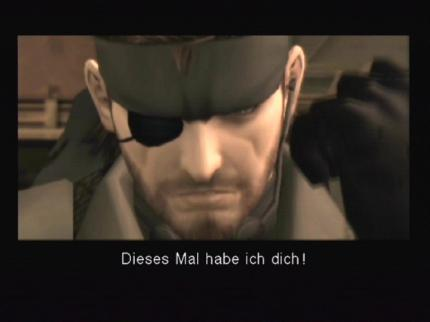 Metal Gear Solid 3: Subsistence
