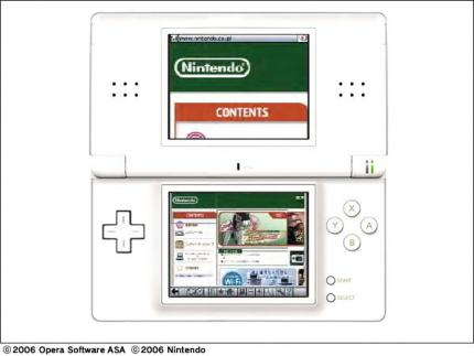 Nintendo-DS-Browser mit Filtersoftware