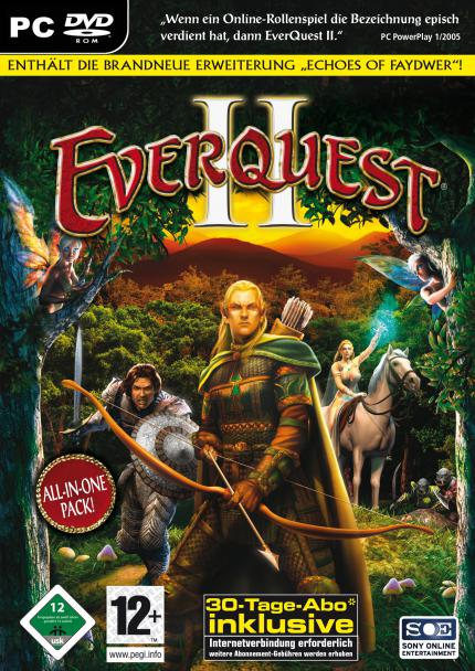 Everquest 2: Echoes of Faydwer ist Gold