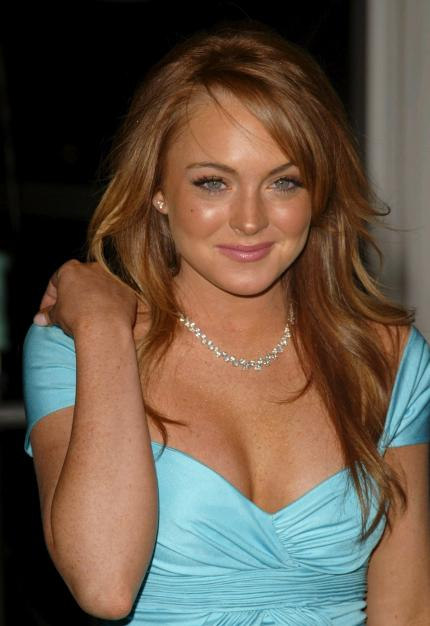 Jung und sexy: Linday Lohan aus New York City