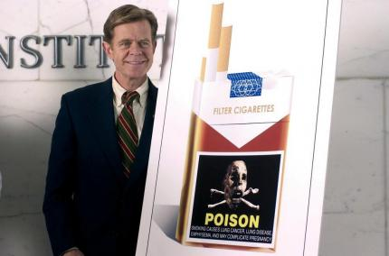 Harte Nuss: Senator Finistirre (William H. Macy)