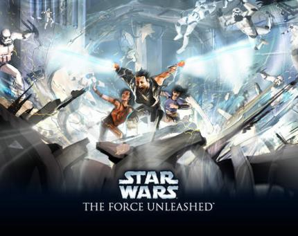 Star Wars: The Force Unleashed - Exklusives Video!