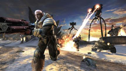 Unreal Tournament 3: PlayStation3-Version mit Tastatur und Maus.
