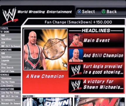 WWE SmackDown! vs. RAW 2007