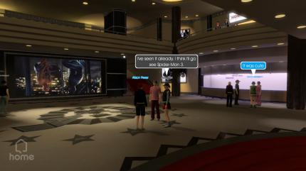 "Sonys virtuelle ""PlayStation Home""-Welt"