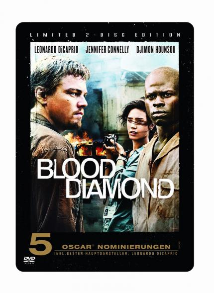 Am 25. Mai veröffentlicht Warner Home Video Blood Diamond als 2-Disc Edition