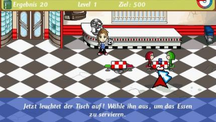 Screenshots zu Diner Dash