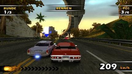 Brandneue Rennstrecke für Burnout: Dominator - Gamesaktuell - Games