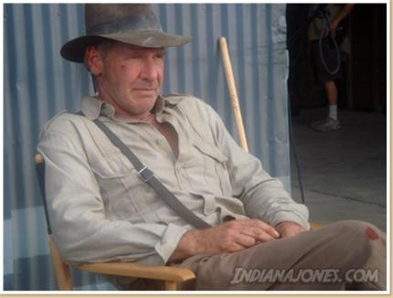 The Man with the Hat is back, again! - Harrison Ford als Henry Jones jr.