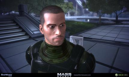 Nackte Haut in Mass Effect?