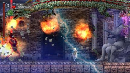 Screenshots zu Castlevania: The Dracula X Chronicles