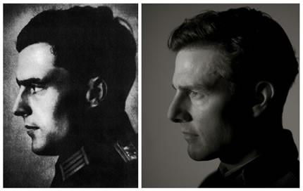 Links: Claus Schenk Graf von Stauffenberg; Rechts: Tom Cruise ©United Artists
