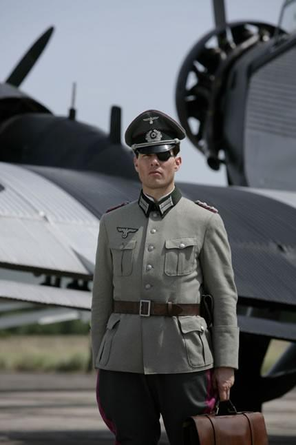 "Tom Cruise beim Dreh von ""Valkyrie"" ©United Artists"