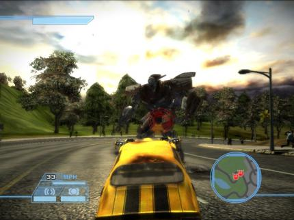 The Transformers: Video der PS2-Version