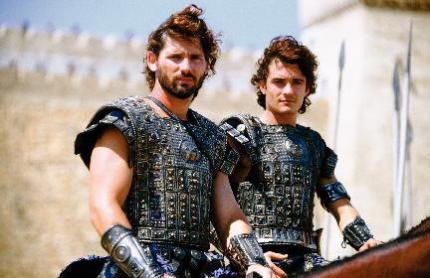 Eric Bana und Orlando Bloom in Troja