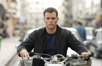 "Matt Damon im Blockbuster ""Das Bourne Ultimatum""."