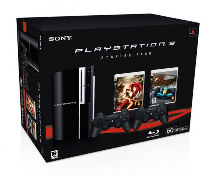 Angeblich neues PS3 Starter Pack in Europa