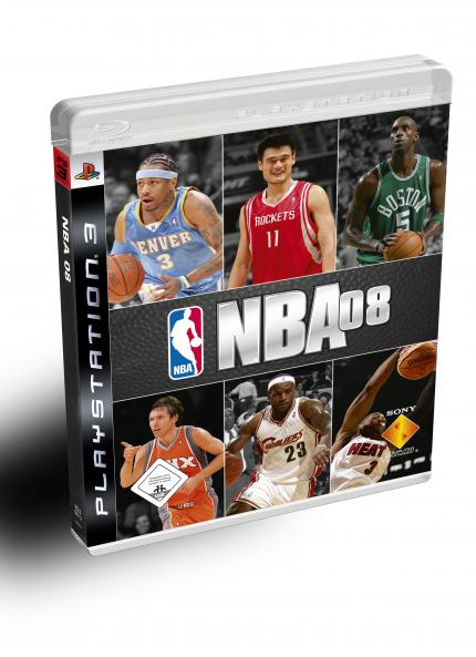 NBA 08 Packshot