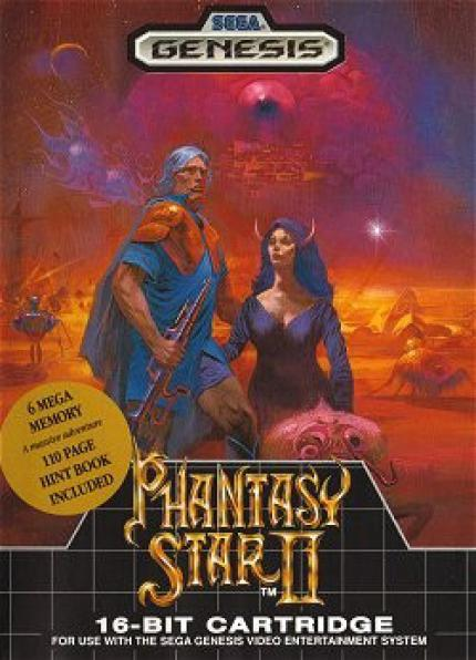 Phantasy Star II - alt aber gut