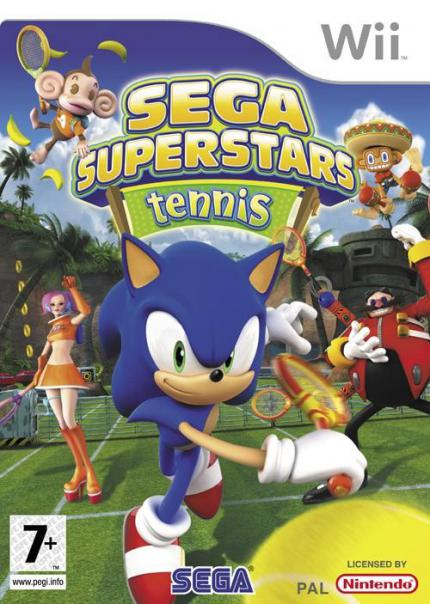 Sega Superstars Tennis Boxart