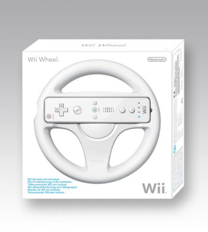 Wii Wheel Packshot