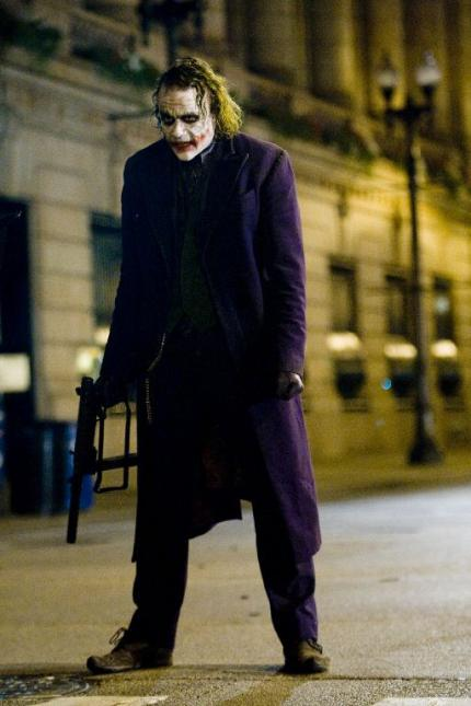 The Dark Knight: Sicher auch dank Heath Ledgers Performance als Joker ein Super-Hit.