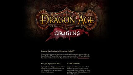 Dragon Age: Origins - Der Trailer zur E3