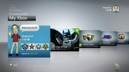 Xbox 360: Dashboard-Update im November?