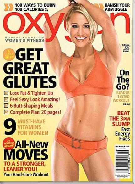 sexy Frauenzeitschrift