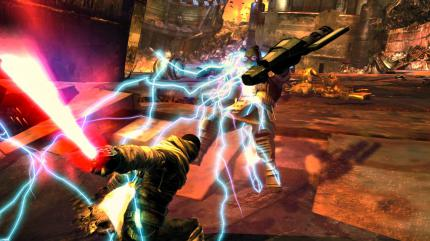 Bilderflut zu Star Wars: The Force Unleashed