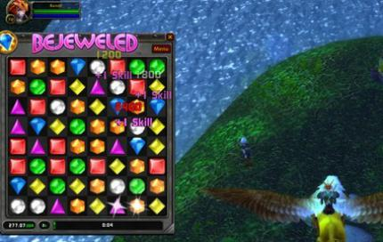Bejeweled in World of Warcraft